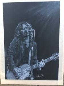 Jeff Martin Conte Crayon