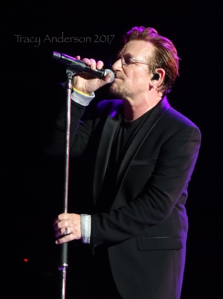 Bono The Joshua Tree Tour Vancouver BC Place Stadium May 12, 2017