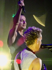 Dave Gahan and Martin Gore Colours Depeche Mode Global Spirit Tour Rogers Place Edmonton Oct 27 2017