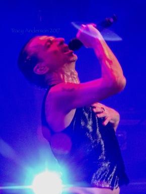 Dave Gahan Close Up Depeche Mode Global Spirit Tour Rogers Place Edmonton Oct 27 2017