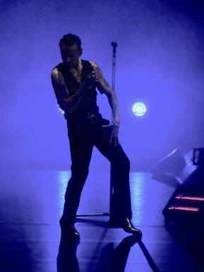 Dave Gahan Violet Depeche Mode Global Spirit Tour Rogers Place Edmonton Oct 27 2017
