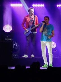 Simon Le Bon and John Taylor Duran Duran Rogers Place Edmonton July 10 2017