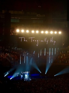 The Tragically Hip, Edmonton, Man Machine Poet Tour Rexall Place, July 30, 2016