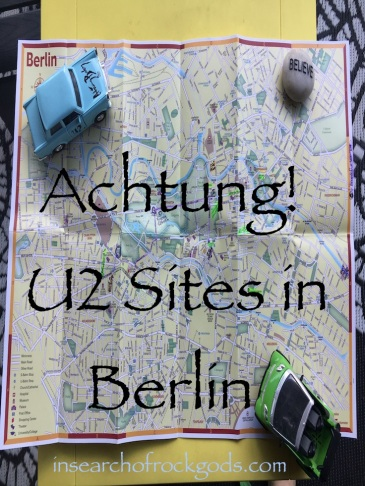 Post Title Photo: Achtung! U2 Sites in Berlin