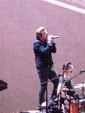 Bono and Larry Croke Park Dublin July 22 2017