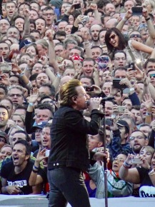 Bono Crowd Croke Park Dublin July 22 2017