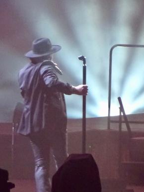 The Shadowman in Shadows - U2 Croke Park 2017