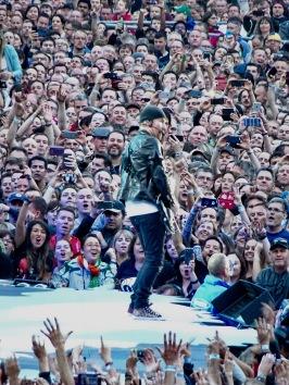 Edge Crowd Croke PArk Dublin July 22 2017