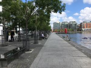 Grand Canal Quay Dublin July 24 2017