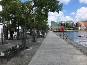 Grand Canal Quay Dublin July 24 2017