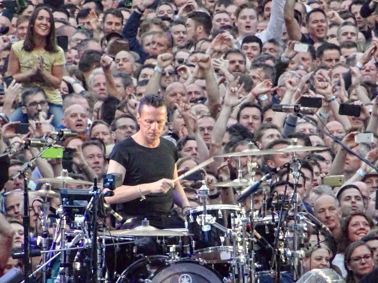 Larry Drums Croke Park Dublin U2 The Joshua Tree July 22 2017