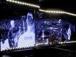 Larry Mullen Home T-shirt and Audience Croke Park Dublin U2 The Joshua Tree July 22 2017
