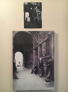 Merchant's Arch Temple Bar Photo Of U2 In The Arch From The Early Days And My Photo From 2001