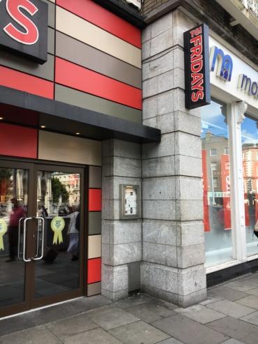 Missing Dandelion Market Plaque Dublin July 20 2017