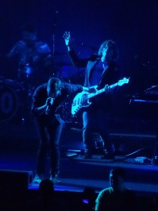 Rob Thomas and Brian Yale Blue Light Matchbox 20 Rogers Place Edmonton July 14 2017