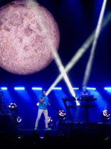 Sunrise/New Moon on Monday - funny - cus it was Monday! Duran Duran Paper Gods Tour Edmonton July 10, 2017