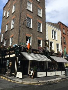 The Duke Pub off of Grafton Dublin July 20 2017