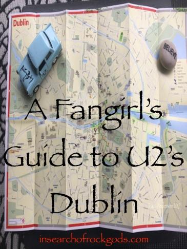 Title Photo of U2 Dublin Map