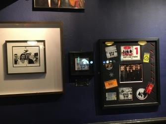 U2 memorbilia Captain America's Grafton Street Dublin