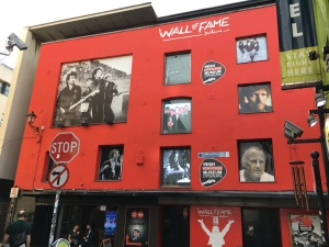 Wall of Fame and Rock n Roll Museum Experience Dublin July 20 2017