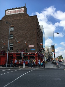 Where Docker's Pub was - Close Up Dublin July 24 2017