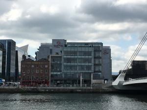 Where Docker's Pub was - Sir Rogerson's Quay Dublin July 24 2017