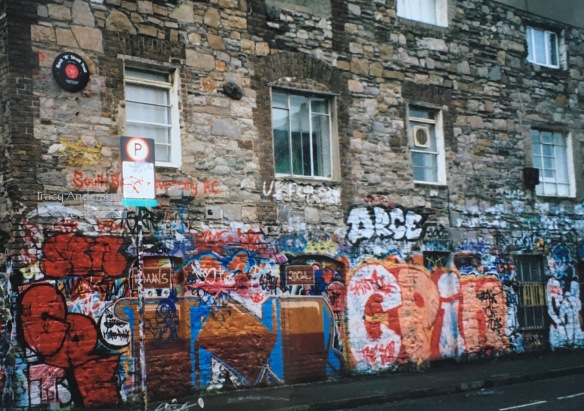 Windmill Lane Wall 2001