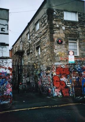 Windmill Lane Walls 2001