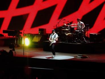 Edge and Larry Vertigo U2 Brussels Aug 1 2017
