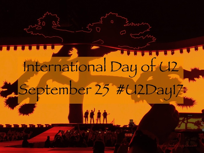 I DO U2: Proposing September 25 as International Day Of U2