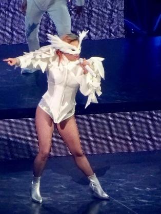 Lady Gaga Bad Romance Close Up Joanne World Tour Edmonton Aug 3 2017