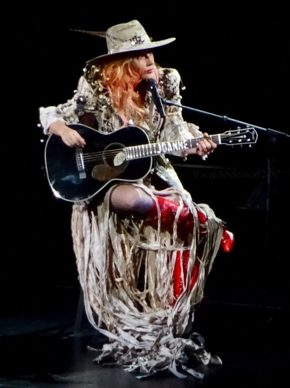 Lady Gaga Joanne Guitar 2 Joanne World Tour Edmonton Aug 3 2017