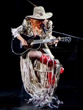 Lady Gaga Joanne Guitar 3 Joanne World Tour Edmonton Aug 3 2017