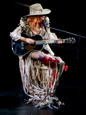 Lady Gaga Joanne Guitar Joanne World Tour Edmonton Aug 3 2017