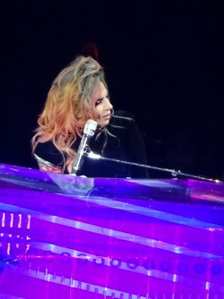 Lady Gaga Piano Profile Joanne World Tour Edmonton Aug 3 2017