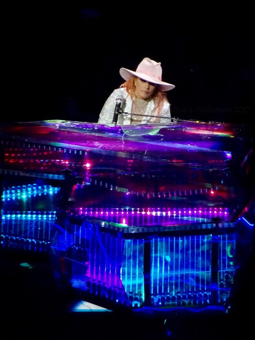 Lady Gaga Piano Stage Million Reasons Joanne World Tour Edmonton Aug 3 2017