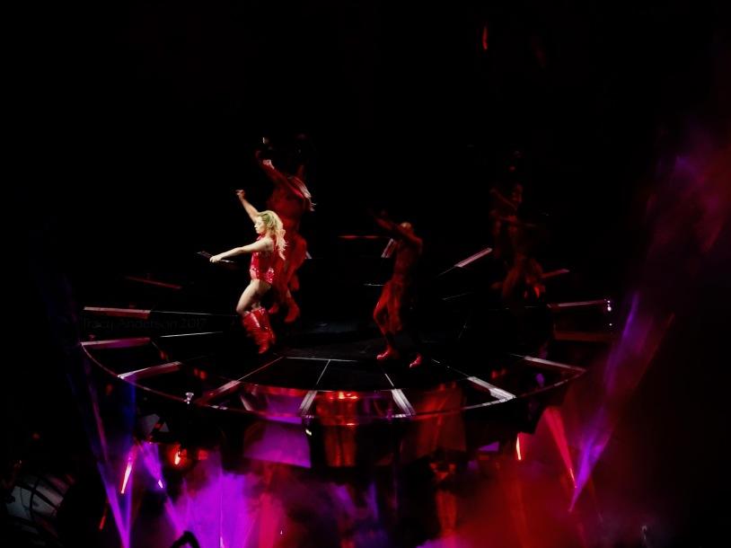 Lady Gaga Red C Stage Joanne World Tour Edmonton Aug 3 2017