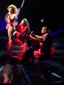 Lady Gaga Red Dancers Joanne World Tour Edmonton Aug 3 2017