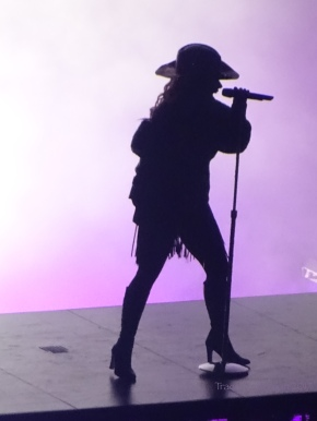 Lady Gaga Silhouette Joanne World Tour Rogers Place Edmonton Aug 3 2017