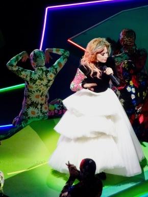 Lady Gaga White Skirt Joanne World Tour Edmonton Aug 3 2017