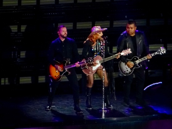 Lady Gaga with Guitars Joanne World Tour Rogers Place Edmonton Aug 3 2017