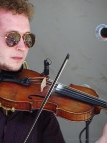 Robbie Greig of the Paul McKenna Band Edmonton Folk Fest 2017