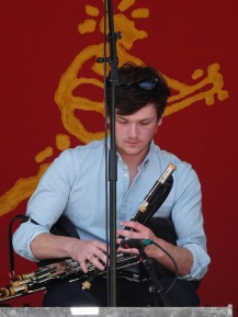 Sean Gray of the Paul McKenna Band Edmonton Folk Fest 2017