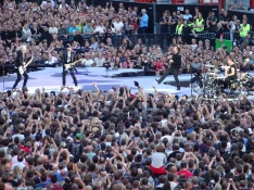 The Band U2 Brussels August 1 2017