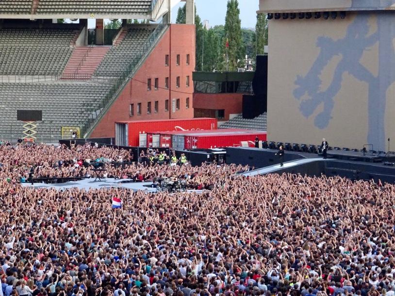 U2 Entrance Brussels August 1 2017
