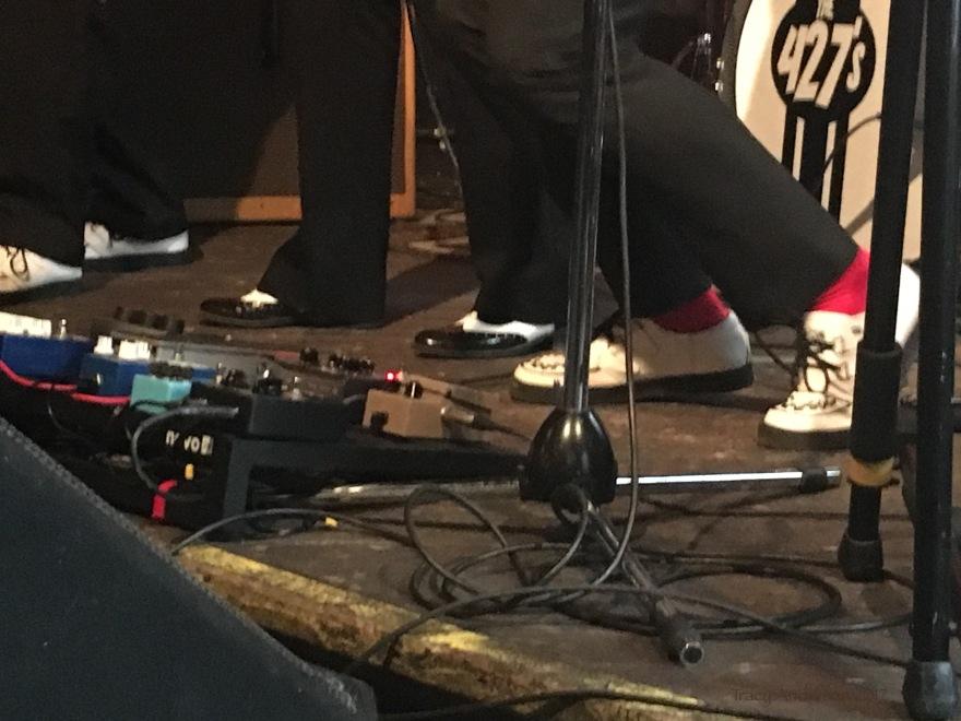 The 427s Edmonton Sept 9 2017 the shoes