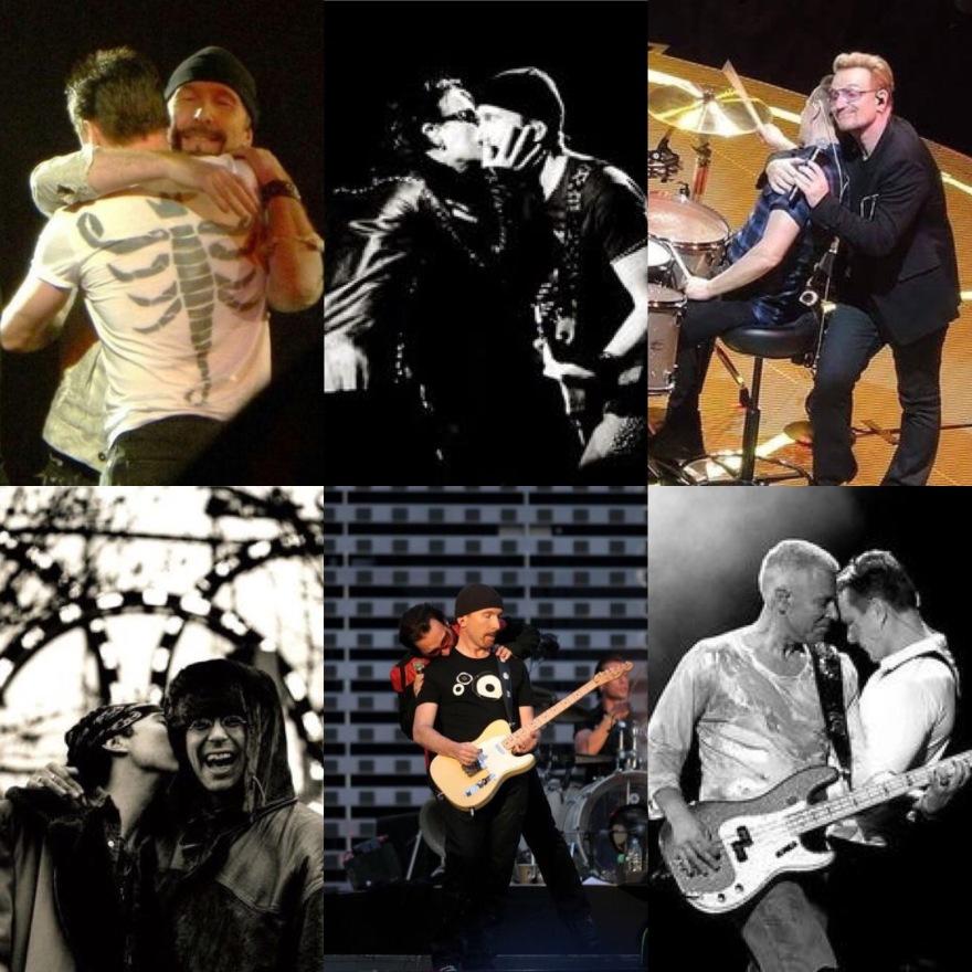 U2 Bromances