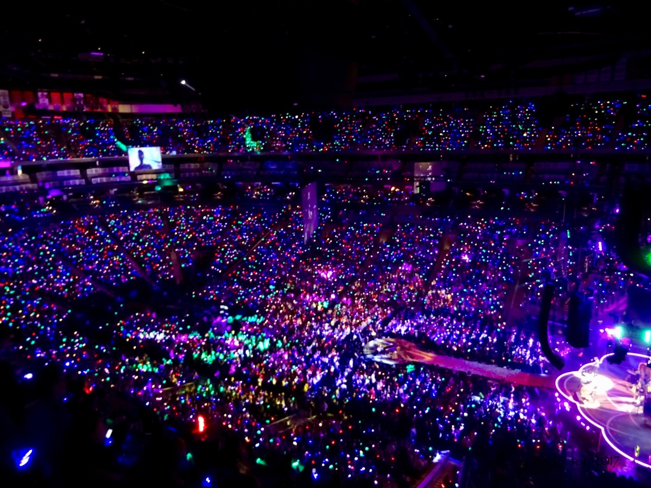 An Arena Full of Lights Coldplay Rogers Place Edmonton September 27 2017