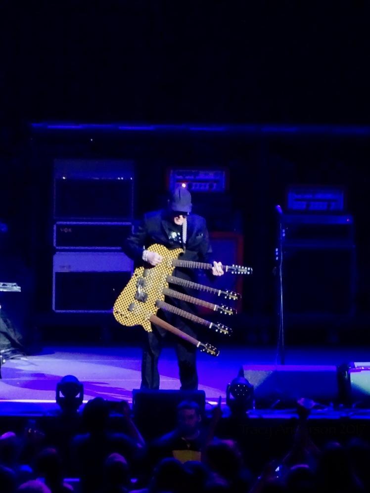 Cheap Trick 5 Part Guitar Nickelback Rogers Place Edmonton Sept 28 2017
