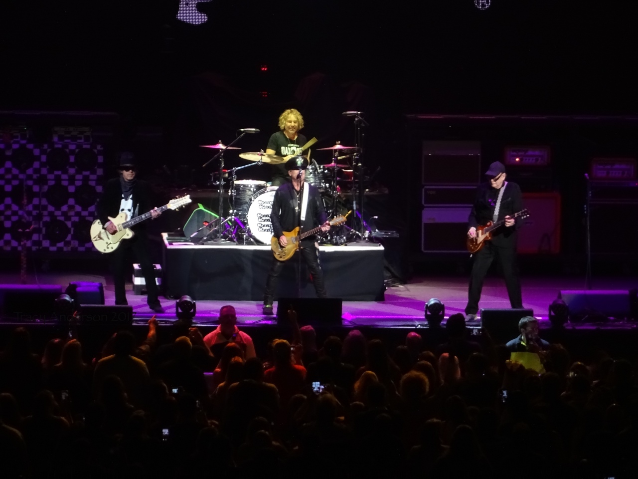 Cheap Trick Openers for Nickelback Rogers Place Edmonton Sept 28 2017